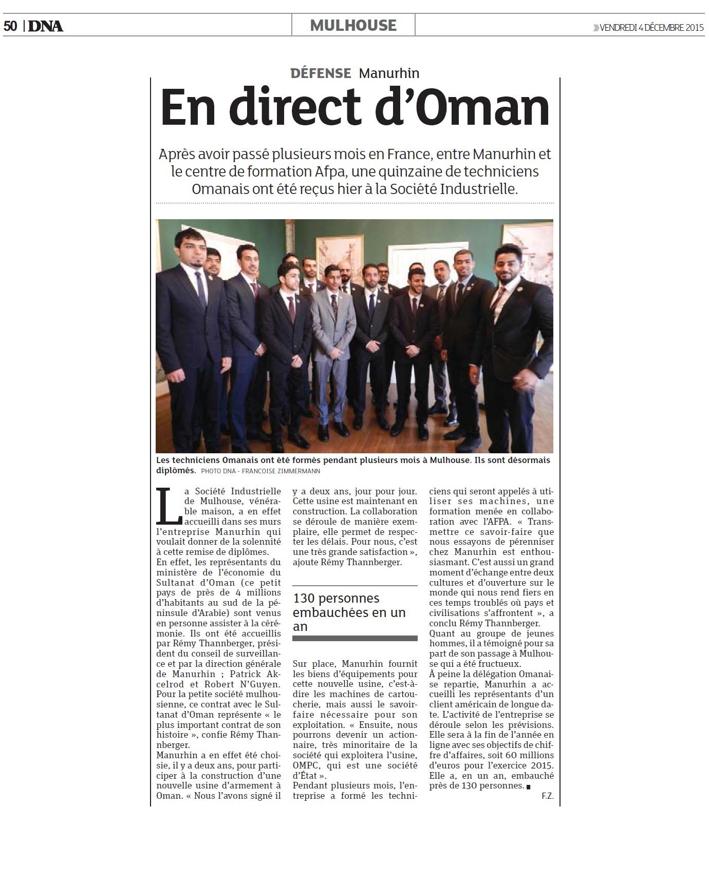 151204 DNA Oman
